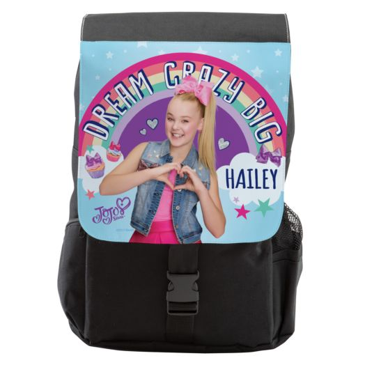 JoJo Siwa Dream Crazy Big Flap Backpack