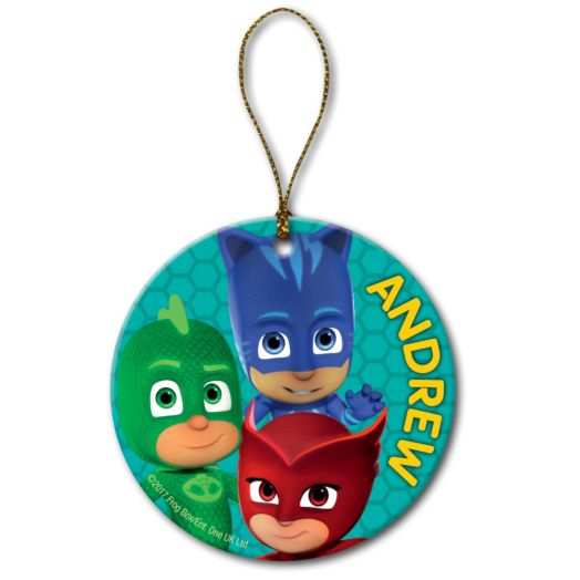 Personalized Christmas Ornament - PJ Masks