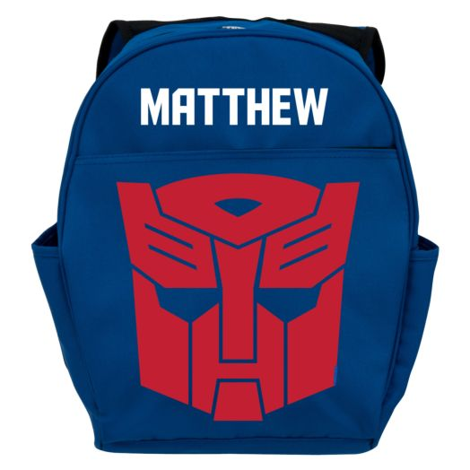 Transformers Robots in Disguise Optimus Prime Toddler Blue Backpack
