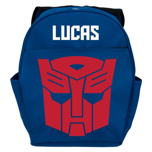 Transformers Robots in Disguise Optimus Prime Youth Blue Backpack