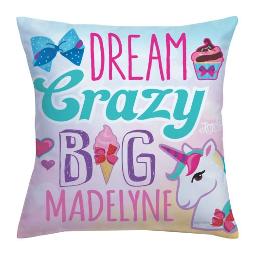 JoJo Siwa Dream Crazy Big Throw Pillow