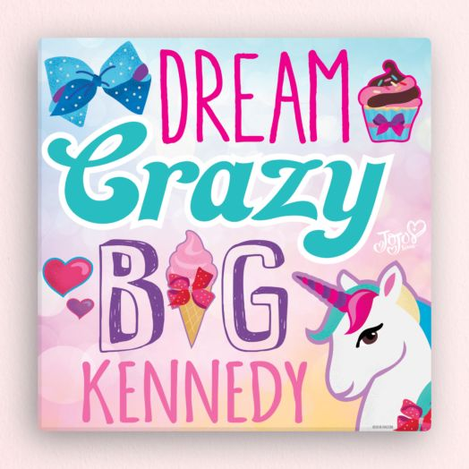 JoJo Siwa Dream Crazy Big Wall Canvas