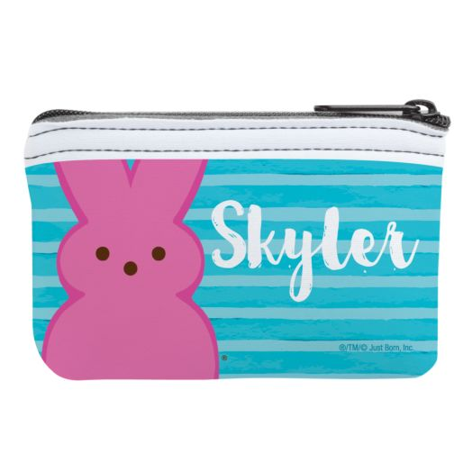 Personalized Peeps Bunny Coin Purse