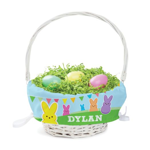 Personalized Peeps Easter Basket