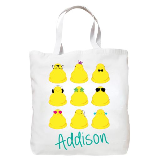 Personalized Too Cool Peeps Tote Bag