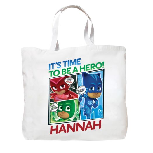 PJ Masks Time To Be A Hero Tote Bag