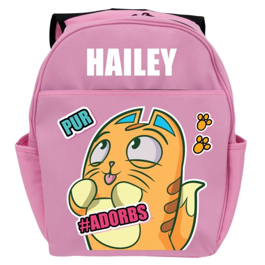 Lost Kitties #Adorbs Pink Youth Backpack