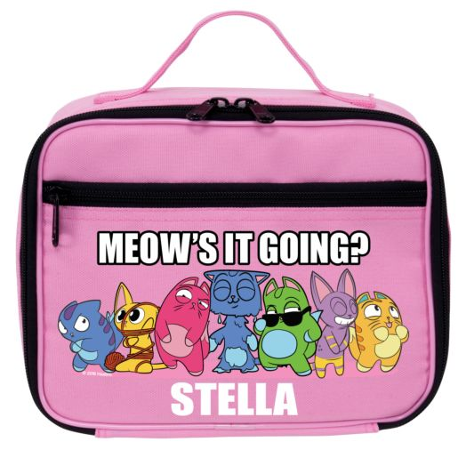 Lost Kitties Meow's It Going Pink Lunch Bag