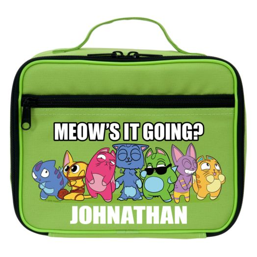 Lost Kitties Meow's It Going Green Lunch Bag