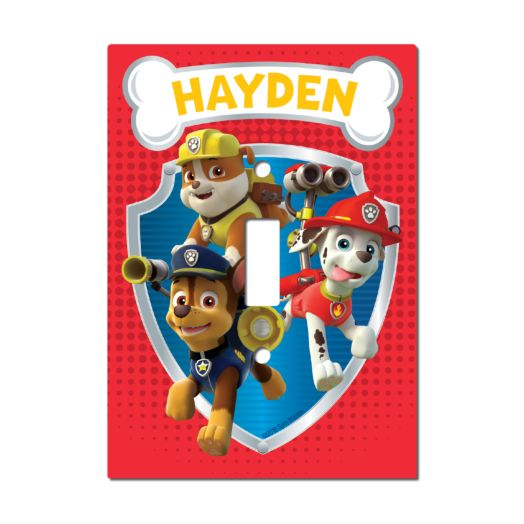 PAW Patrol Light Switch Cover