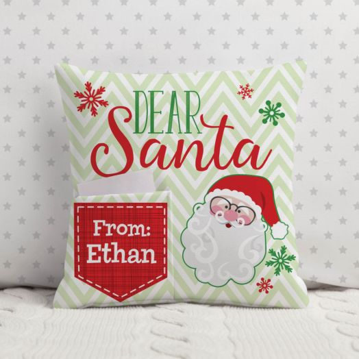Letter To Santa Personalized Pillow