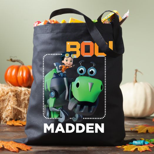 Rusty Rivets Boo! Personalized Trick or Treat Bag