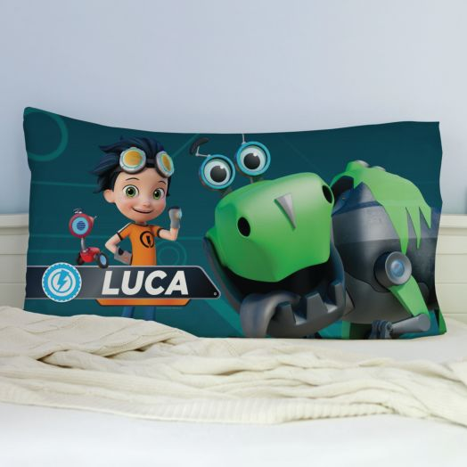 Rusty Rivets Personalized Pillowcase