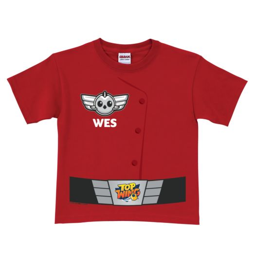 Top Wing Uniform Red T-Shirt