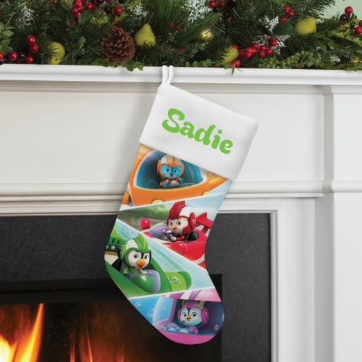 Top Wing Personalized Stocking