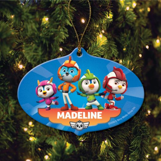 Top Wing Personalized Ornament