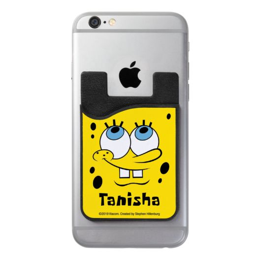 SpongeBob SquarePants Personalized Phone Wallet