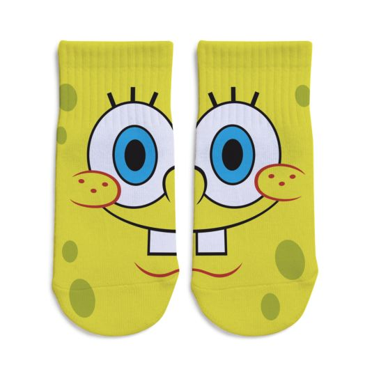 SpongeBob SquarePants Toddler No-Show Socks