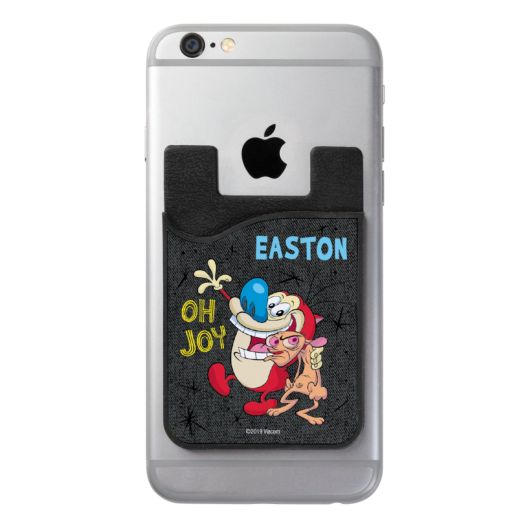 Ren & Stimpy Personalized Phone Wallet
