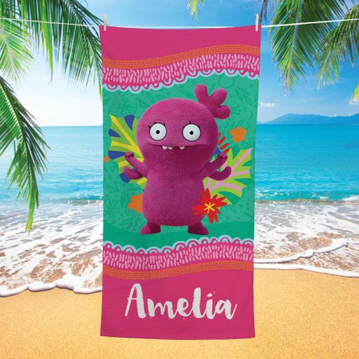Uglydolls Moxy Personalized Beach Towel