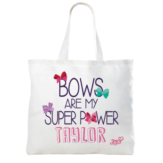 JoJo Siwa Bows Are My Super Power Tote Bag