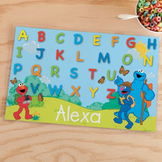 Sesame Street Outdoor Fun Placemat