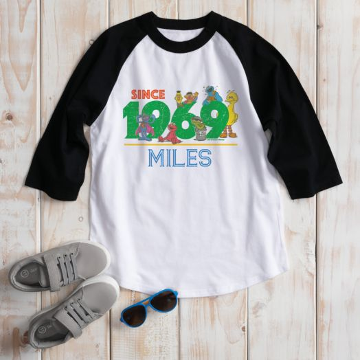 Sesame Street 50th Anniversary Youth Sports Jersey