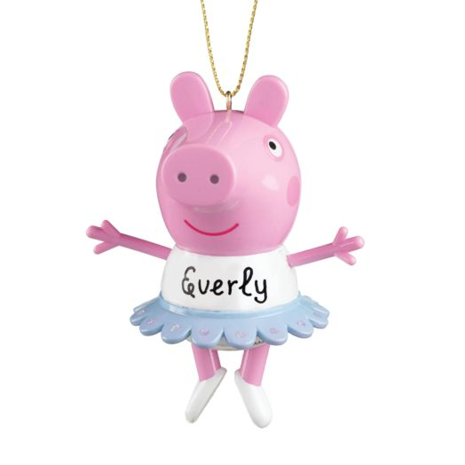 Peppa Pig Ballerina Ornament