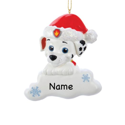 PAW Patrol Santa Hat Marshall Ornament