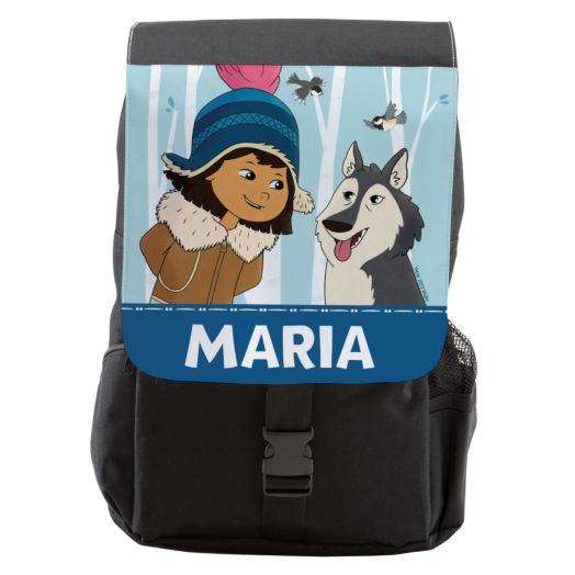 Molly Of Denali Personalized Flap Backpack