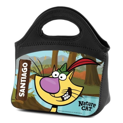 Nature Cat Personalized Lunch Bag