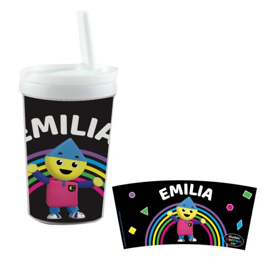 Charlie's Colorforms Personalized Sippy Cup