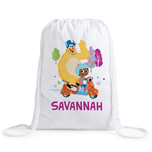 Esme & Roy Personalized Drawstring Bag