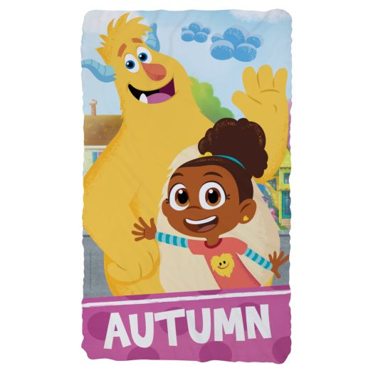 Esme & Roy Personalized Fuzzy Blanket