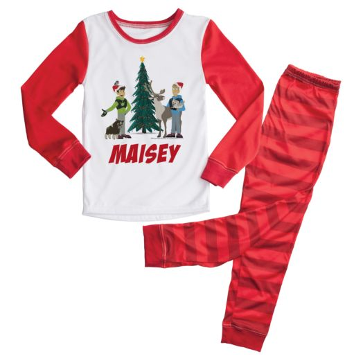 Wild Kratts Christmas Tree Personalized Pajamas