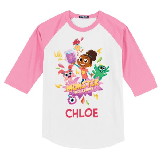 Esme & Roy Monster Meltdown Personalized Youth Sports Jersey
