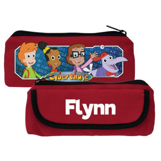 Cyberchase Personalized Red Pencil Case