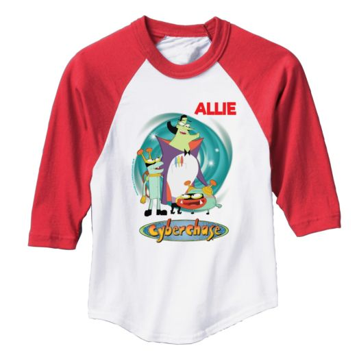 Cyberchase Personalized Villains Red Sports Jersey