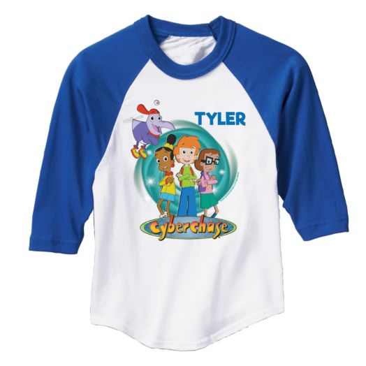 Cyberchase Personalized Blue Sports Jersey