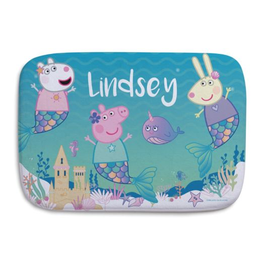 Peppa Pig Under the Sea Personalized Bathmat