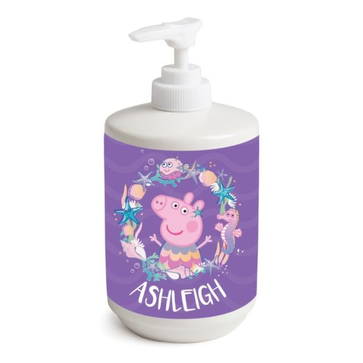 Peppa Pig Under the Sea Personalized Soap Dispenser