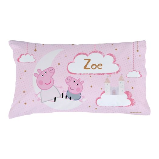 Peppa Pig Over the Moon Personalized Pillowcase