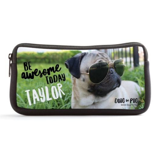 Doug The Pug Be Awesome Personalized Pencil Case
