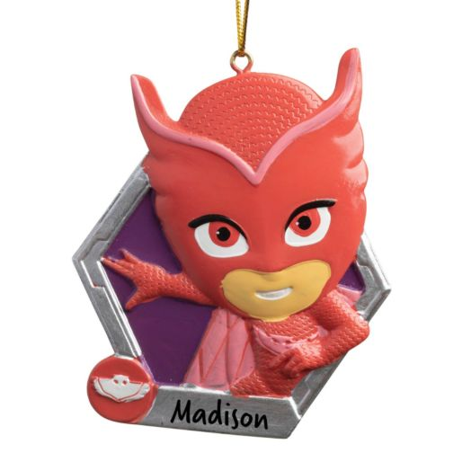 PJ Masks Red Owlette Personalized Ornament