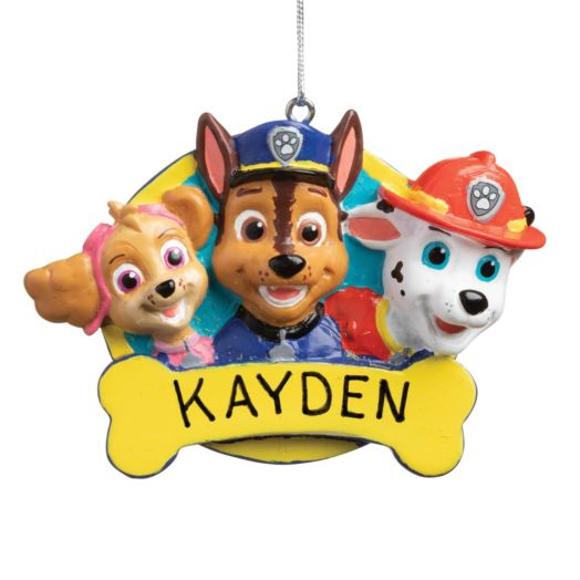PAW Patrol Rescue Pups Personalized Ornament