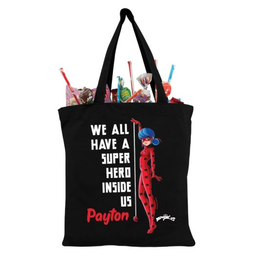 Miraculous Ladybug Superhero Inside Us Personalized Tote Bag