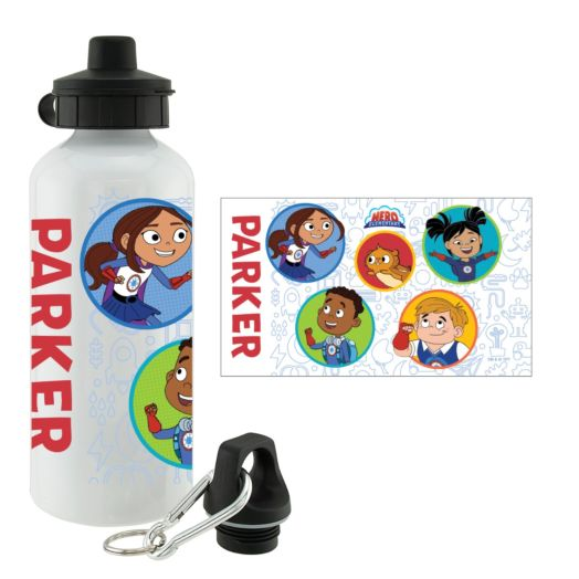 Hero Elementary Personalized Water Bottle