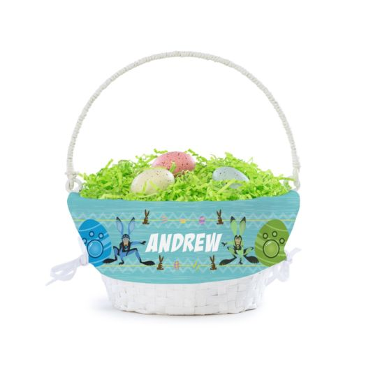Wild Kratts Bunny Power Suits Personalized Easter Basket
