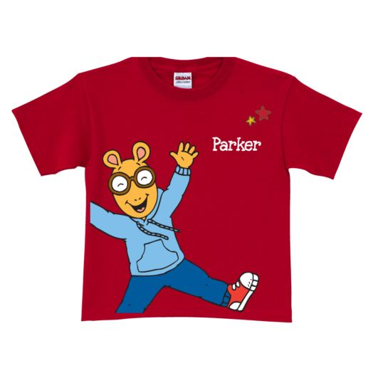 Arthur Jumps For Joy Red T-Shirt