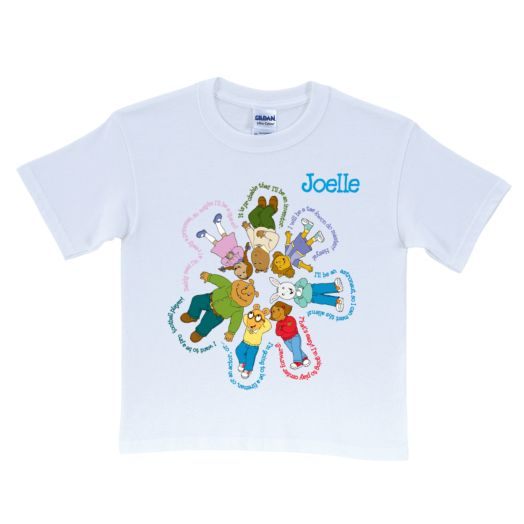 Arthur & Friends Flower White T-Shirt